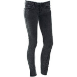 Terranova Elasticated black jeans