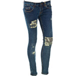 Terranova Jeans with camouflage patches