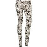 Terranova Long leggings with skull print
