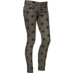 Terranova All-over star print trousers