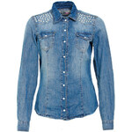 Terranova Denim shirt with studs