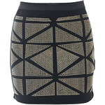 Terranova Stretch jersey mini-skirt