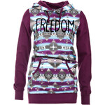 Terranova Hooded print sweatshirt