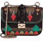 Valentino Embellished Studded Shoulder Bag