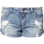 Pieces FUNKY LAGNA Jeans Shorts medium blue denim