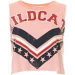 Topshop Wildcat Crop Top by Project Social Tee