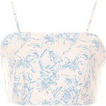 Topshop MOTO Pastel Floral Bralet