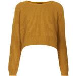 Topshop Fisherman Cropped Sweater