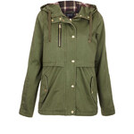 Topshop Hooded Lightweight Jacket