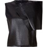 J.W. Anderson Leather Crop Top