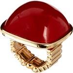 Designsix Columbine Red Stone Ring
