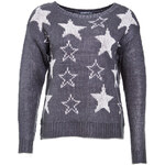Terranova Jacquard star sweater