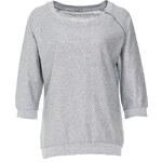 Terranova Laminated mélange sweatshirt
