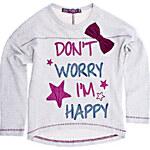 Terranova Girls' sweatshirt with print
