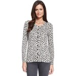 Marks and Spencer M&S Collection Bobble Button Cheetah Print Cardigan