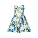 Topshop **Geri Floral Bandeau Dress by TFNC