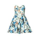 Topshop **Geri Floral Bandeau Dress by TFNC