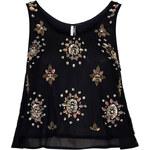 Topshop Embellished Swing Vest