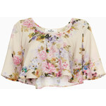 Topshop **Floral Floaty Crop Top by Oh My Love