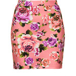Topshop **Band Print Skirt by WYLDR