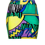 Topshop **Miami 80 Mini Skirt by Illustrated People