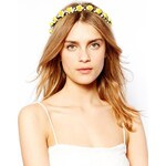 Johnny Loves Rosie Eden Yellow Flower Headband