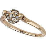 Topshop Pave Spin Ball Ring