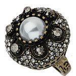Topshop Pearl Dome Stone Ring