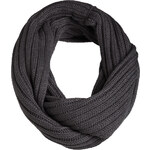 Esprit rib knitted blended cotton snood