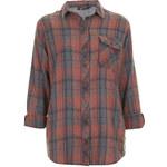 Topshop Oversized Check Shirt