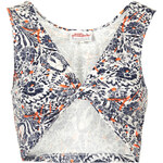 Topshop **Twist Back Crop Top by Annie Greenabelle