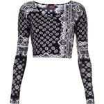 Topshop **Mary Crop Top by Motel