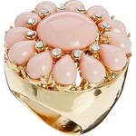 Johnny Loves Rosie Beaded Ring - Gold