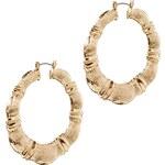 ASOS Creole Ridge Hoop Earrings