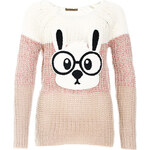 Terranova Sweater with animal applique