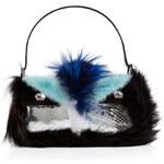 Fendi Baguette Bag in Fox, Mink and Python