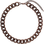 Topshop Chocolate Curb Chain Necklace