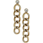 Topshop Curb Chain Drop Earrings