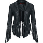 **Fringed Leather Jacket by Kate Moss for Topshop