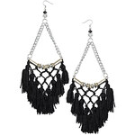 Topshop Large Tassel Drop Earrings