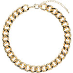 Topshop Thick Chunky Chain Collar
