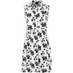 Topshop Pansy Print Smock Shirt Dress
