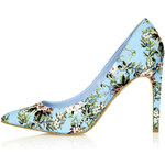 Topshop GLORY Floral Print High Shoes