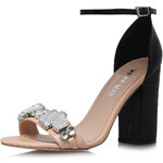 Topshop **Nude High Heel Sandals by Miss KG