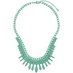 Topshop Green Ovals Necklace