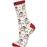 Topshop Christmas Cat in a Hat Socks