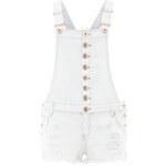 Bílé laclové šortky LA FEMME