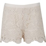 Rock and Rags Crochet Shorts Cream Small