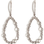 Susan Foster 18K White Gold Chandelier Earrings with Diamonds