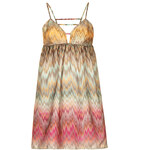 Topshop **Printed Babydoll Cami Dress by Oh My Love